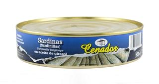 Sardinillas en Aceite Vegetal 45/55 RO-550