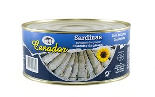 Sardinilla Aceite Vegetal 80/100 RO-1000